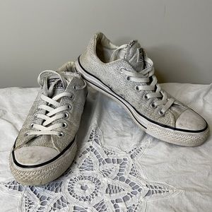 Converse All Star grey padded lace up sneaker 7.5
